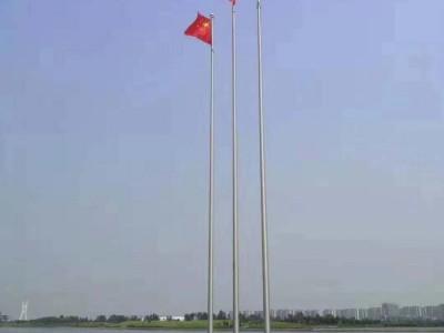 旗杆,不锈钢锥形旗杆生产安装厂家