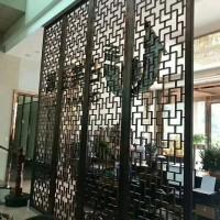 酒店不锈钢屏风