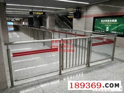 车站不锈钢护栏,地铁不锈钢护栏安装厂家,地铁栏杆,郑州地铁栏杆