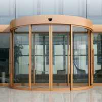 自动弧型门安装,弧形自动门电机