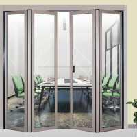 自动折叠门,电动折叠门安装示意图