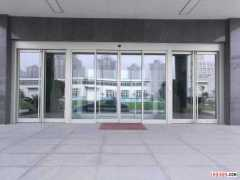 玻璃感应门,郑州玻璃感应门安装维修厂家