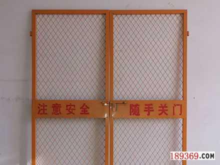 郑州电梯口安全门