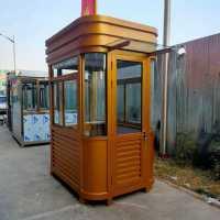 郑州不锈钢岗亭-治安-门卫-保安-钢结构岗亭厂家