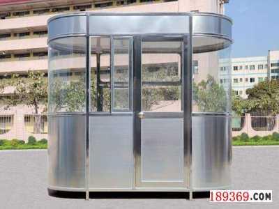 不锈钢岗亭,不锈钢收费岗亭,圆弧不锈钢岗亭