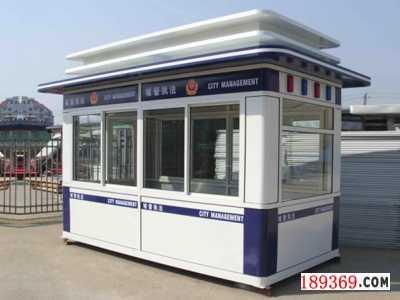 郑州警务岗亭加工厂