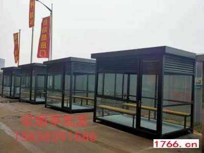 郑州不锈钢保安岗亭-门卫治安岗亭-小区收费岗亭吸烟亭厂家