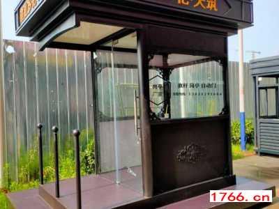 郑州形象站台现货岗亭厂家
