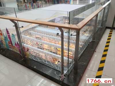 商场玻璃护栏,郑州同创商场玻璃护栏安装厂家