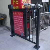 小区广告门,郑州电动门安装厂家,郑州通道广告门