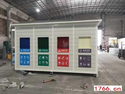 郑州同创垃圾分类亭厂家