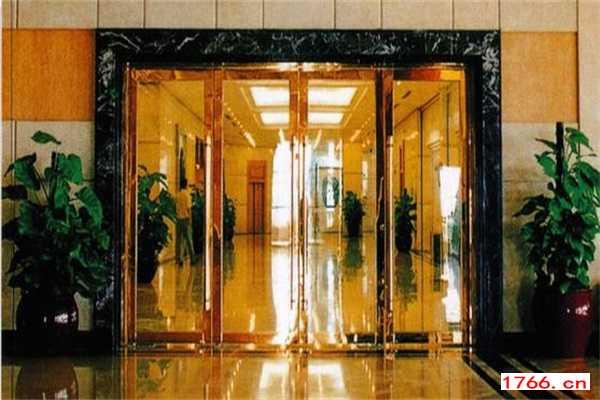 郑州电动玻璃门维修