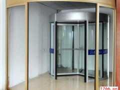 弧形电动玻璃门安装方法