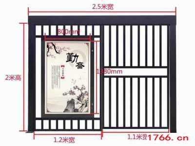 小区通道门尺寸,郑州同创电动门