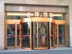 郑州自动旋转门常见故障有哪些?