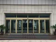 型材自动门,郑州同创自动门安装