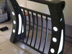 灯光桥梁护栏,桥梁护栏,郑州桥梁护栏