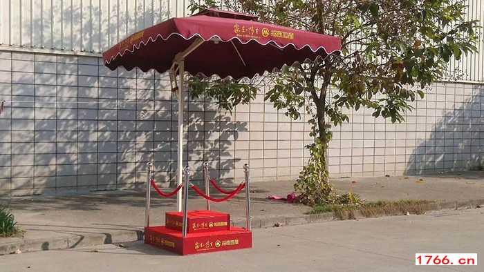 郑州售楼部遮阳伞岗台