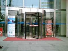郑州旋转门安装