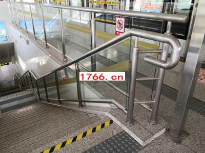 车站护栏,不锈钢栏杆,地铁站玻璃护栏