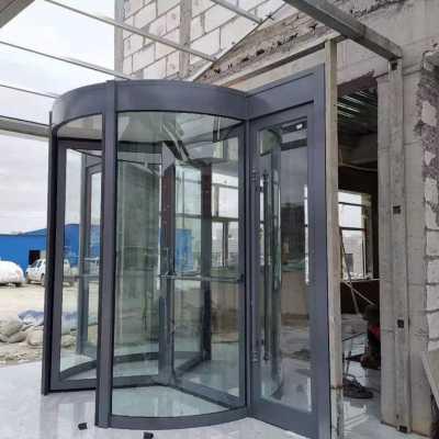 郑州电动旋转门,三翼旋转门安装厂家