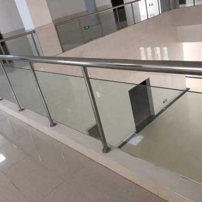 郑州玻璃护栏安装及配件