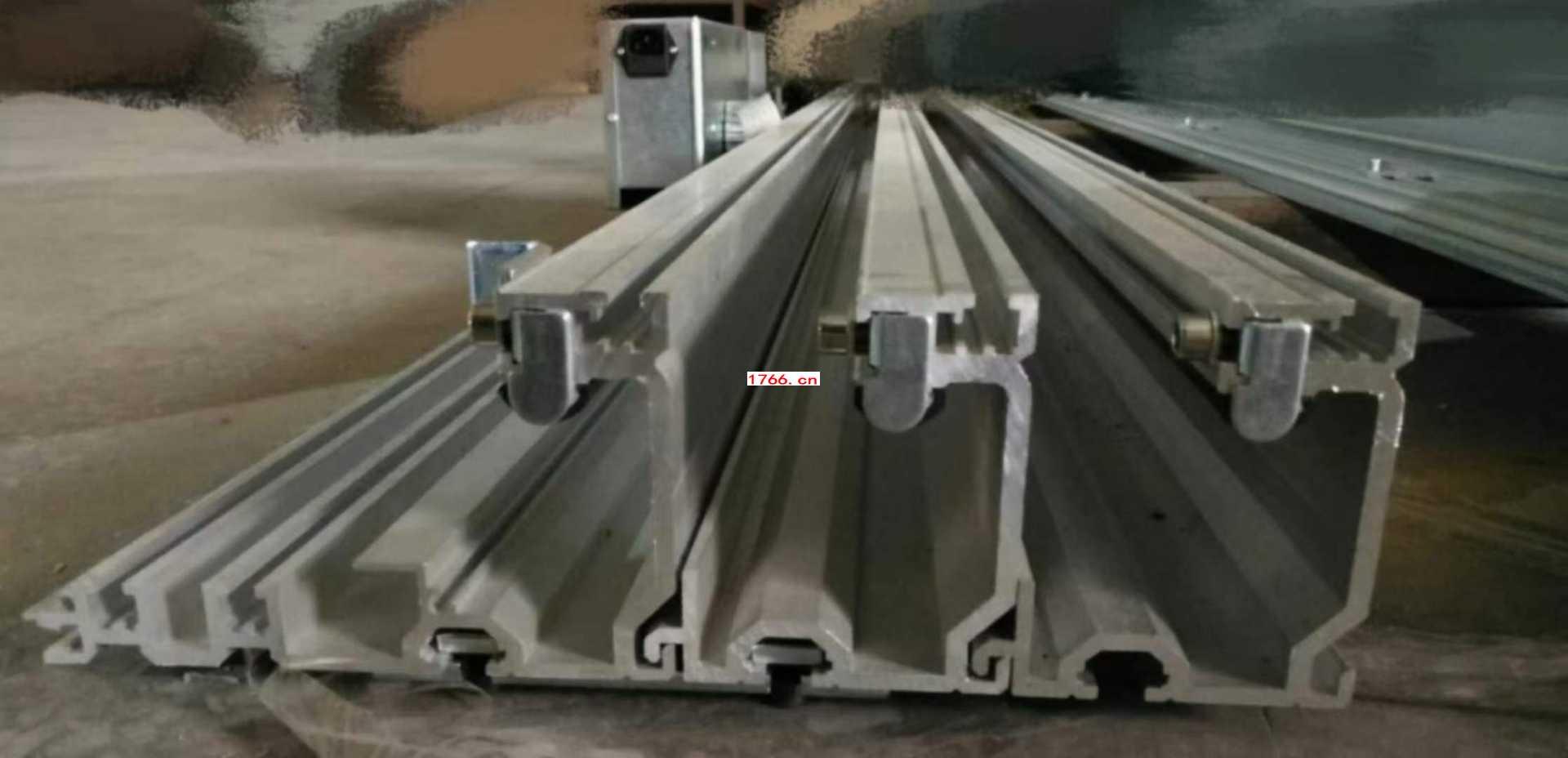 重型重叠自动门