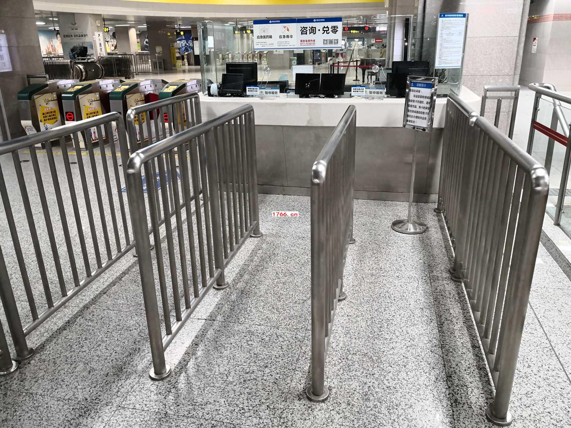 不锈钢隔离护栏
