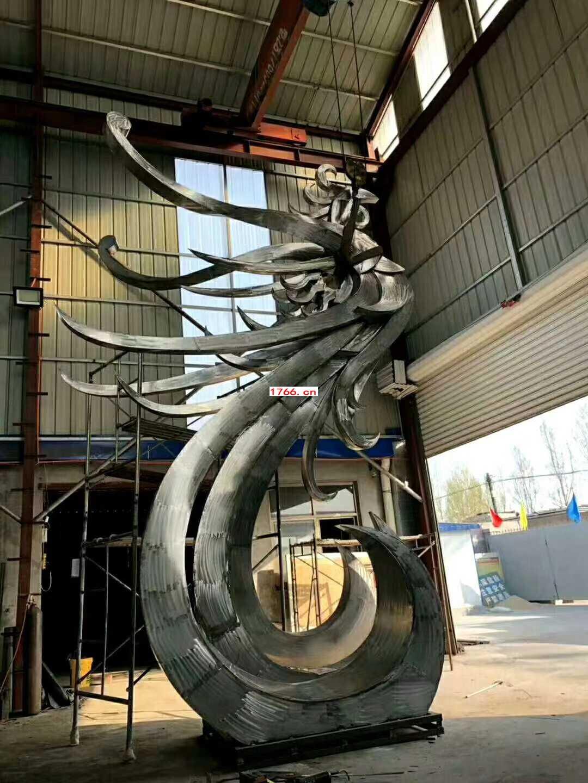 凤凰飞鸟雕塑