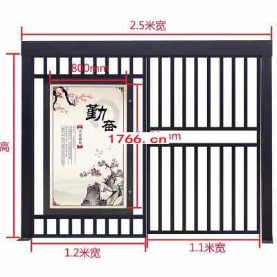 郑州小区电动通道门