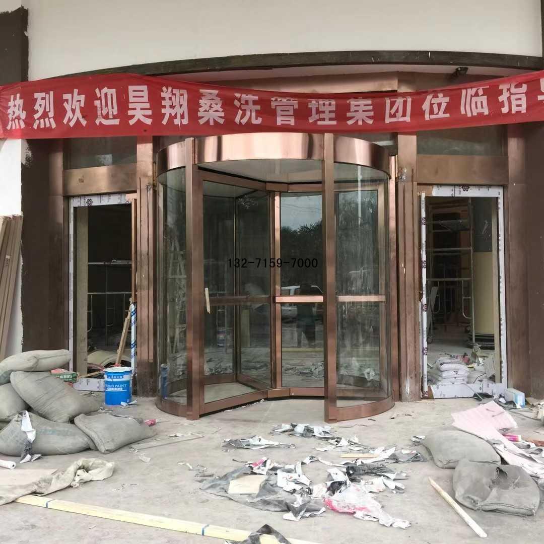 郑州旋转门安装厂家