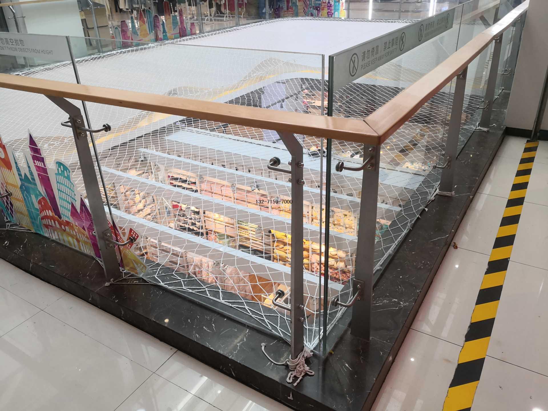 商场玻璃防护栏