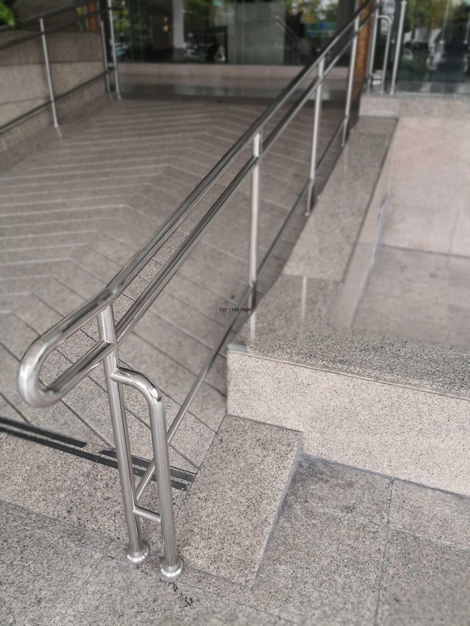 残疾人坡道不锈钢护栏